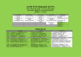 2015.03.05. IV. Rábaköz Kupa (2006) 1.hely