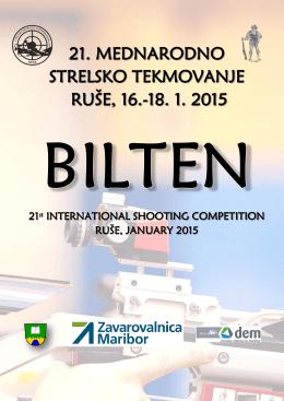 21. mednarodno strelsko tekmovanje ruše, 16.-18