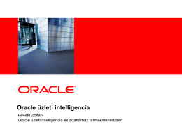 Oracle BI for Small to Medium Businesses