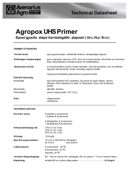 2K Epoxi Agropox UHS Primer