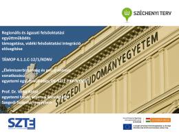 Végső cél - Debreceni Egyetem