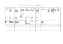 Nyilvántartás a bevásárlóközpontokról Balatonkenese