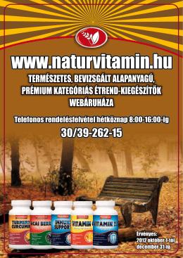 gyógynövényes termék - NaturVitamin Diszkont