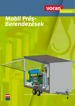 Folder Mobile Press-Anlagen | ungarisch