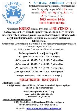 K+HVSZ Autósiskola oktoberi felhívása.pdf