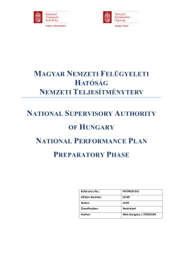 Hungarian National Peformance Planx