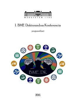 Programfüzet - BME Doktori