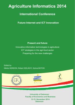 AI2014 Proceedings - Debreceni Egyetem