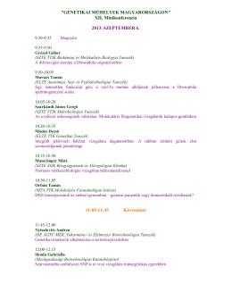 Részletes program (PDF)