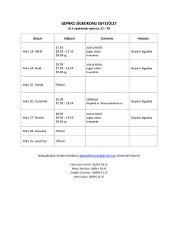 U14+ - Gepárd Jégkorong Egyesület