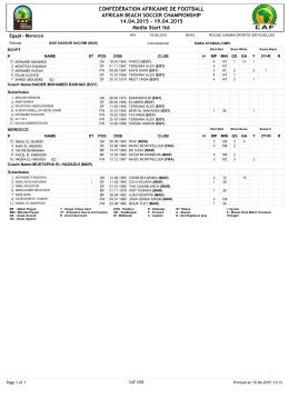 19.04.2015 Media Start list