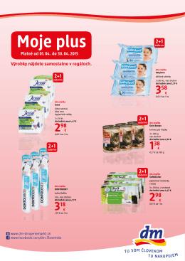 Moje plus - dm drogerie markt Slovensko