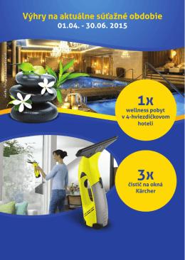 wellness pobyt v 4-hviezdičkovom hoteli čistič na okná Kärcher