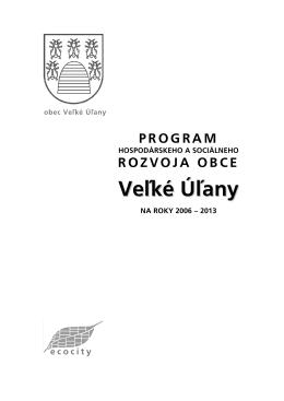 Program rozvoja obce