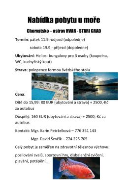 chorvatsko 2015