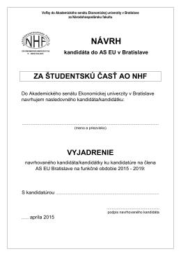 NÁVRH - NHF