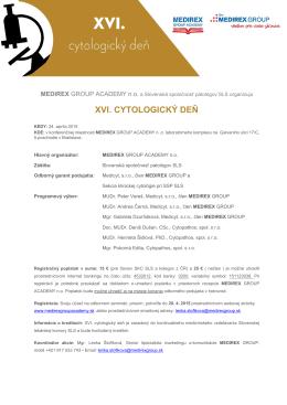 Pozvánka, program - Slovenská spoločnosť patológov