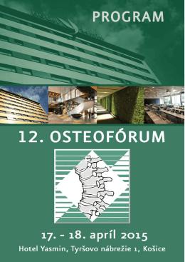 Program - OSTEOPOROZA.sk