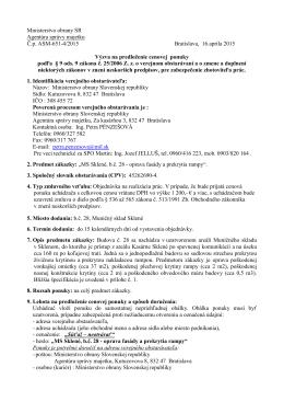 MS Sklené, b.č. 28 - Ministerstvo obrany SR