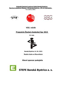 STEFE Banská Bystrica a. s.