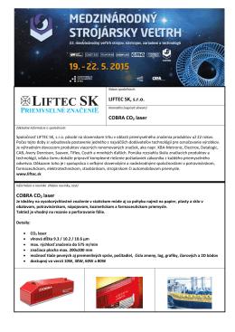 LIFTEC SK, s.r.o.