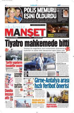 Danilo imzayı attı - Antalya Haber - Haberler
