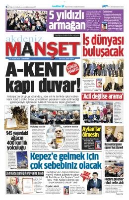`Acil değilse arama` - Antalya Haber - Haberler