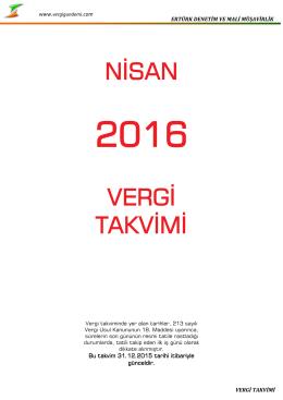 Nisan-2016