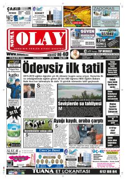 (3861) Cuma - Soma Olay Gazetesi