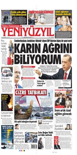 Atilla YAYLA - Yeni Yüzyıl Gazetesi