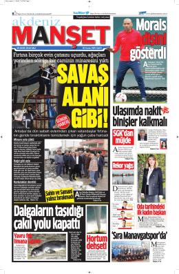 `Sıra Manavgatspor`da` - Antalya Haber - Haberler