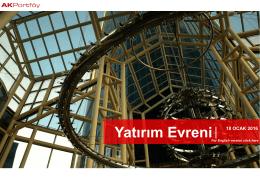 Yatırım Evreni - Ak Portföy Yönetimi