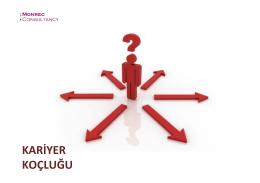 KARİYER KOÇLUĞU - İTÜ İzmir M.D.