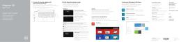 Inspiron 15 5558 Hızlı Başlangıç Kılavuzu - Windows 8