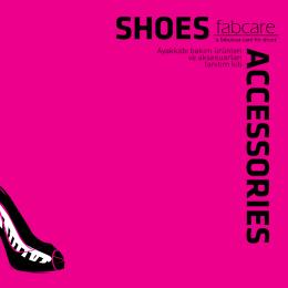 Ayakkabı bakım ürünleri ve aksesuarları tanıtım kiti ACCESSORIES
