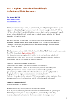ABD_2._Baskani_Biden - Prof. Dr. Ahmet SALTIK