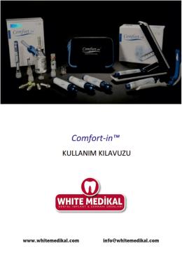 comfort-ın iğnesiz enjeksiyon - White Medikal`e Hoşgeldiniz