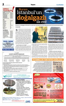 ilk evi! - gazete kadıköy