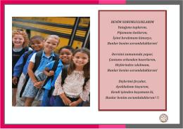 Değerler Eğitimi Sorumluluk Pano