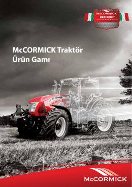 McCORMICK Traktör Ürün Gamı