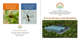 biyolojik mücadele araştırma merkezi
