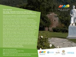 Özel davetiye Sizi Doğu Halkidiki`nin(Aynoroz,Athos Dağı