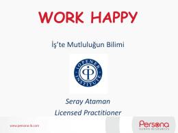 WorkHappy - Persona-ik