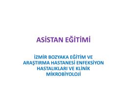 ASİSTAN EĞİTİMİ