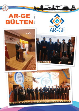 AR-GE BÜLTEN 2015 - İzmir İl Milli Eğitim Müdürlüğü