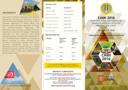 CAMI 2016 - Istanbul University