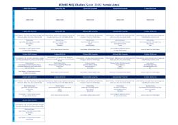 BÜMED MEÇ Okulları  Şubat 2016   Yemek Listesi