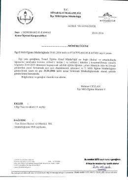kooperatif - Dinar İlçe Milli Eğitim Müdürlüğü