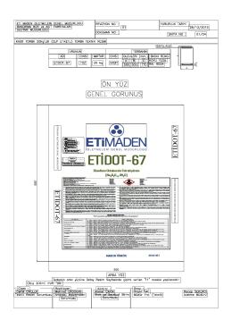 ETİDOT-67 ETİDOT-67