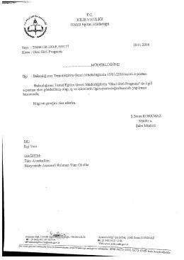T.C. KİLİS VALİLİĞİ - Kilis Milli Eğitim Müdürlüğü